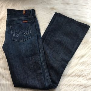 "7FAM 7 For All Mankind Jeans 27 ""A Pocket"" flare"